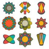 Abstract logo vector collection. Corporate logotypes Stock Photos