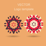 Abstract logo vector design template Royalty Free Stock Photography