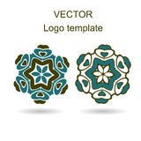 Abstract logo vector design template Royalty Free Stock Image