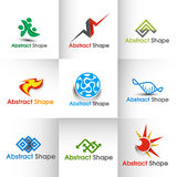 Abstract Logo. Abstract web Icons and vector logo Royalty Free Stock Image