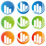 Abstract logos Royalty Free Stock Photos