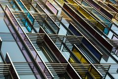Abstract London Architecture royalty free stock images