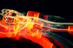 Abstract long time exposure Stock Photos