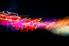 Abstract long time exposure Stock Photography