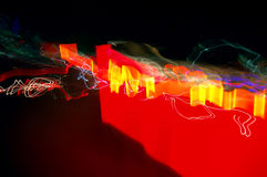 Abstract long time exposure Royalty Free Stock Image