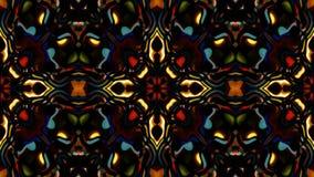 Abstract loop kaleidoscope stock video