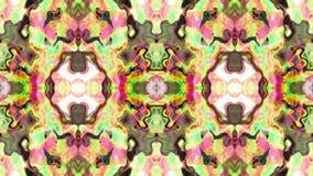 Abstract loop kaleidoscope stock video footage