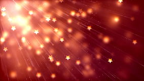 Abstract Loopable Background with nice flying stars. HD Loopable Abstract Background with nice flying stars for club visuals, LED installations, broadcasting stock illustration