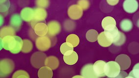 Abstract Loopable Background with nice multicolor bokeh stock video