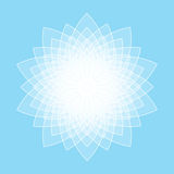 Abstract lotus symbol Royalty Free Stock Images