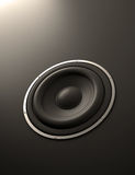 Abstract loudspeaker Royalty Free Stock Image