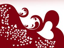 Abstract love background Royalty Free Stock Images