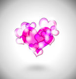 Abstract love background Stock Photos