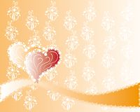 Abstract love background Royalty Free Stock Photography
