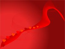 Abstract love background Stock Photography