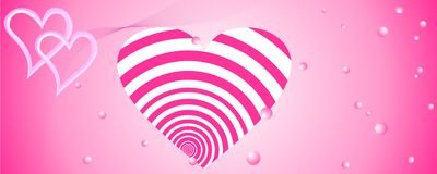 Abstract love background Royalty Free Stock Photos