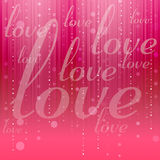 Valentines Love Background Stock Photos
