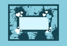 Abstract love banner Stock Photos