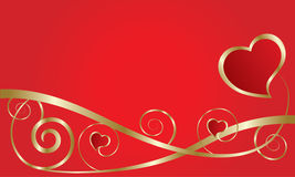 Abstract love card Royalty Free Stock Photo