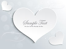 Abstract  love card design Stock Images