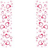 Abstract love design of hearts. For greeting cards, invitations Valentine`s day, wedding, birthday, party,celebration . Abstract love design of hearts. For Royalty Free Stock Images