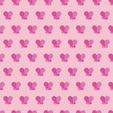 Abstract love geometric seamless pattern in. Abstract love geometric seamless pattern for background and can for his other Royalty Free Stock Photos