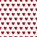 Abstract love geometric seamless pattern in. Abstract love geometric seamless pattern for background and can for his other Royalty Free Stock Photo