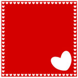 Abstract love and heart Stock Images