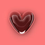 Abstract love heart Royalty Free Stock Photos
