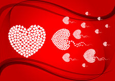 Abstract love illustration 1 Stock Photo