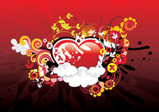 Abstract love illustration Royalty Free Stock Photography