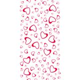 Abstract love pattern of hearts. For greeting cards, invitations Valentine`s day, wedding, birthday. Vector illustration Royalty Free Stock Photo