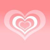 Abstract love symbol Stock Photo