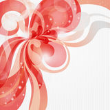 Abstract love theme background in red tones Royalty Free Stock Photo