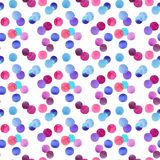 Abstract lovely cute beautiful artistic tender wonderful transparent bright red, pink, magenta, purple, violet, blue, indigo circl Stock Photo