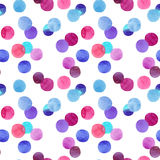 Abstract lovely cute beautiful artistic tender wonderful transparent bright red, pink, magenta, purple, violet, blue, indigo circl Royalty Free Stock Images