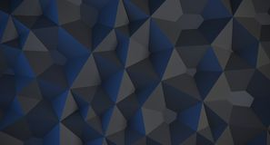 Abstract Low Poly Background. 3D Rendering Of Abstract Low Poly Background stock illustration