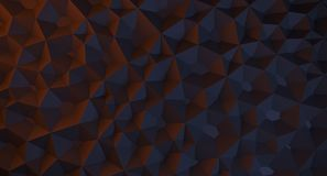 Abstract Low Poly Background. 3D Rendering Of Abstract Low Poly Background vector illustration