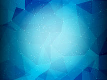 Abstract low poly background Royalty Free Stock Photography