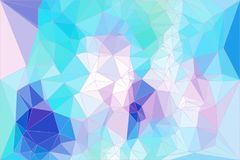Abstract low poly background design royalty free stock photography