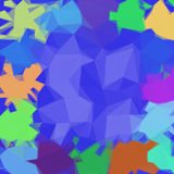 Abstract Low Poly Background Royalty Free Stock Photo