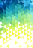 Abstract low poly background, vector Royalty Free Stock Photo