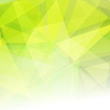 Abstract low poly design background Stock Image