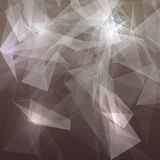 Abstract low poly grey bright technology vector Stock Images