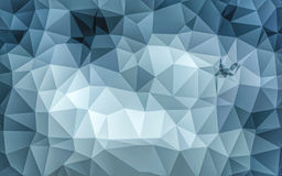 Abstract low poly grey wallpaper Royalty Free Stock Photos