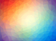 Abstract low poly multicolor background Royalty Free Stock Photo