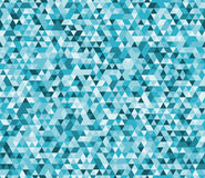 Abstract low poly vector geometric background seamless pattern. stained-glass window Royalty Free Stock Photos