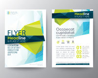 Abstract low polygon background for Poster Brochure Flyer design Royalty Free Stock Photography