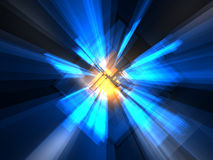 Abstract luminous background Stock Photo