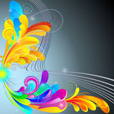 Abstract luminous background. Royalty Free Stock Photos